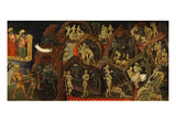 Hell, from the Last Judgement (Right-Hand Panel) Giclee Print by Giovanni di Paolo