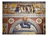 Rape of Europa Frieze with Zodiac Sign of Aries, Fresco, 1520 Giclee Print by Giovanni M Falconetto (Attr to)