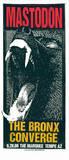 Mastodon: Bronx/Converge Serigraph by  Print Mafia