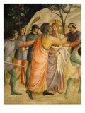 Arrest of Jesus and Judas' Kiss, Fresco 1437-45 Giclee Print by  Fra Angelico