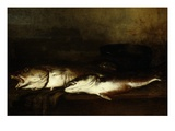 Sea Fish (Poissons De Mer), 1870 (Rf 118) Giclée-Druck von Antoine Vollon