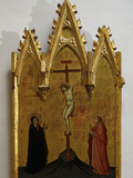 The Crucifixion Photographic Print by Taddeo di Bartolo
