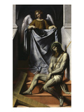 Ecce Homo with Angel, C. 1550 Giclee Print by Alessandro Bonvicino Moretto
