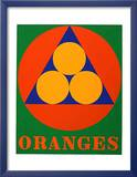 No. 3 oranges Art by Robert Indiana