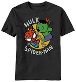 Marvel Kawaii - Toy Hulk Vs. Spidey Shirts
