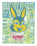"""That's What I Said"" - Bunny Bread Grocery Store Print Serigraph by  Print Mafia"