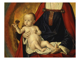 Infant Christ, from Bourbon Altarpiece, Late 15th Century (Detail) Giclee Print by Jean Hey