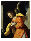 Angel Gabriel, from the Annunciation, 1638-39 (Detail) Giclee Print by Francisco de Zurbarán