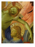 Christ and Saint John, from the Deposition of Christ, 1435, from Holy Trinity Altarpiece (Detail) Giclee Print by  Fra Angelico