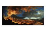 Vesuvius Erupting in 1767 Giclee Print by Pietro Antoniani
