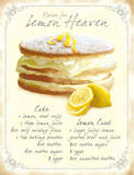 Lemon Heaven Tin Sign