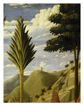 Landscape with White Castle on Hilltop, from the Deposition of Christ, 1435, from Holy Trinity Giclee Print by Fra Angelico