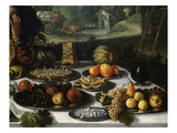 Gastronomy, from the Vanity of Riches (Detail) Giclee Print by Lodewyk Toeput