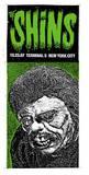 Shins: Green Monster Serigraph by  Print Mafia