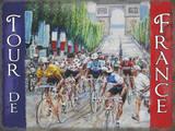 Tour de France - Flag Tin Sign