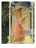 Angel Gabriel, from the Annunciation, 1430-35 Altarpiece Giclee Print by  Fra Angelico