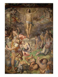 The Resurrection, 1569-77 Fresco Giclee Print by Marco Pino