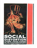 Social Distortion: Wolf Serigraph by  Print Mafia