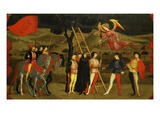 Angel Descending as Woman Who Had Sold the Host Is Punished, Fourth Scene Giclee Print by Paolo Uccello