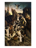 Hell, or the Fall of the Damned Giclee Print by Dieric Bouts