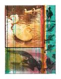 Observación de pájaros Serigrafía por  Print Mafia