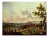 Jouy Aux Arches, Near Metz, France Giclee Print by Jean-Baptiste Charles Claudot