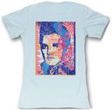 Juniors: Elvis Presley - Elvis Retro Print T-Shirts