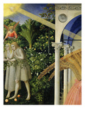 Adam and Eve Expelled from Paradise, from the Annunciation, 1430-35 Altarpiece Giclee Print by Fra Angelico