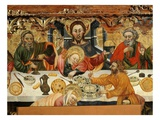 The Last Supper, from Santa Constança De Linya, Spain (Central Detail) Giclee Print by Jaime Ferrer