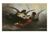 Une &#194;me Au Ciel (A Soul in Heaven), 1878 Giclee Print by William-Adolphe Bouguereau