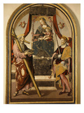 Madonna and Child with Saints Giclee Print by Bernardo Bellotto