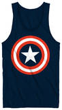 Tank Top: Captain America - 80's Captain Tank Top