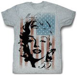 Marilyn Monroe - Marilyn Flag T-Shirt