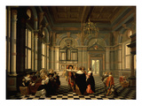 Musical Party Giclee Print by Dirck Van Delen