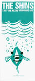 Shins: Aussie Fish Siebdruck von  Print Mafia