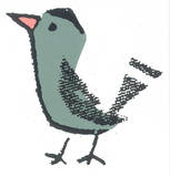 Birdy Serigraph by  Print Mafia