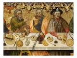 Apostles, from the Last Supper, from Santa Constança De Linya, Spain (Detail) Giclee Print by Jaime Ferrer