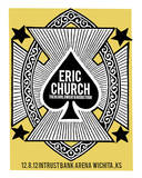 Eric Church - Wichita Serigrafía por Print Mafia