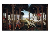 The Story of Nastagio Degli Onesti (First Episode), 1483 (From Boccaccio's Decameron) Giclee Print by Sandro Botticelli