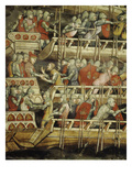 Fleet of Frederick Barbarossa, C. 1123-90 Giclee Print by Cornelis van Spaendonck