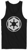 Tank Top: Star Wars - Empire Logo - Kalın Askılı Atlet