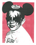 The Demon Mouse Club Serigraph by  Print Mafia