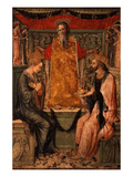 Coronation of Christ and the Virgin Mary Giclee Print by Bonifacio Bembo