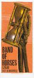 Band of Horses: Hourglass Siebdruck von  Print Mafia