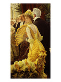 Le Bal (The Ball) Giclee Print by James Tissot