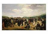 La Garde Nationale En 1849 (French National Guard in 1849) Giclee Print by Arsène-Charles-Narcisse Hurtrel