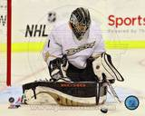 Jonas Hiller 2012-13 Action Photo