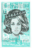 """Stretch"" Wigs Serigraph by  Print Mafia"