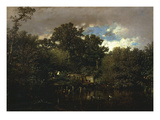 The Sluice (La Vanne) (Rf 1832) Giclee Print by Jules Dupre