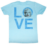 Marilyn Monroe - Love Tshirt